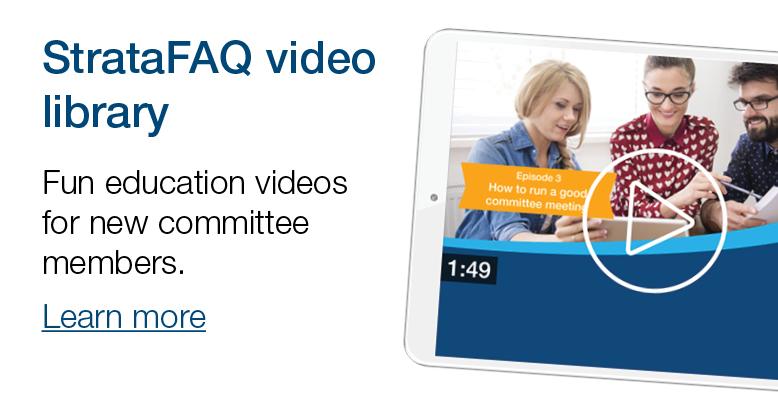 Strata FAQ education videos
